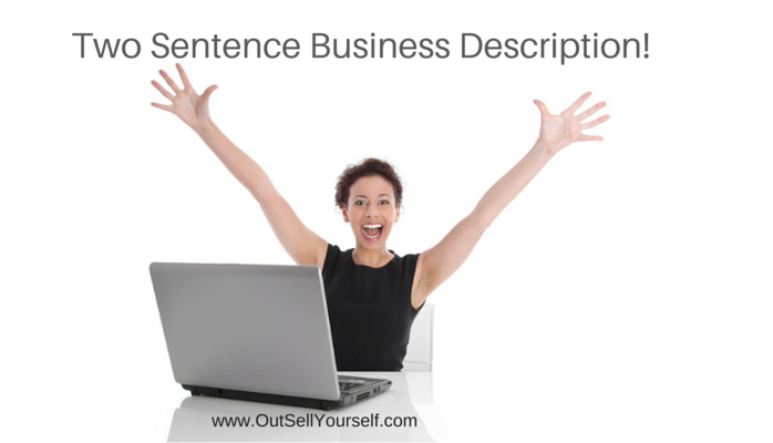 Two Sentence Business Description - Post Local Ads Backpage
